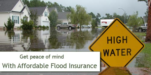Get Affordable flood insurance!
